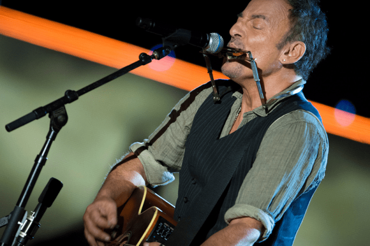 Bruce Springsteen By EJ Hersom / DoD News Features