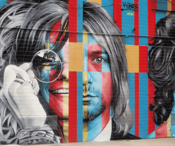 Caricature Of Kurt Cobain Sells For Almost $300,000
